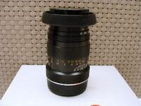 "Minolta (JP) - Minolta M-Rokkor 1:4/90mm Black ""Leica M-mount Lens"" - TOP!"