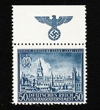 Germany Poland General Government Michel 94 MNH Lublin Eagle Swastika SelvageH E