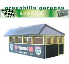 Greenhills Scalextric Slot Car Building Silverstone Press Box Kit 1:32 Scale ...
