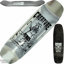 "Creatura ""navarrette peste"" Skateboard Deck 8.8 ""X 32,6"" Old Skool pool Park"