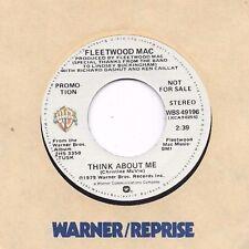 FLEETWOOD MAC * 45 * Think About Me * 1979 * DJ PROMO * NM/ MINT * Stereo / Mono