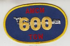 HM-14 VANGUARD AMCM 600 TOW HOURS PATCH