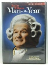 Man Of The Year DVD 2007 (A-7) Robin Williams Christopher Walken Comedy
