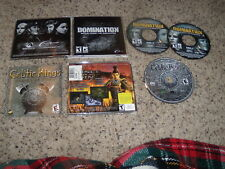 Domination & Celtic Kings Rage of War (PC Games) Near Mint