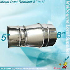 "5"" to 6"" Metal Ventilation Connector Air Cooling Duct Fan Ducting Reducer Joint"