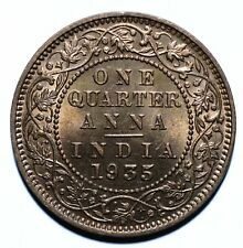 1935 India - British One Quarter 1/4 Anna - George V - Lot 1120