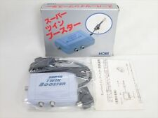 SUPER TWIN BOOSTER Hori BS-8 Boxed Import Japan Video Game 1015