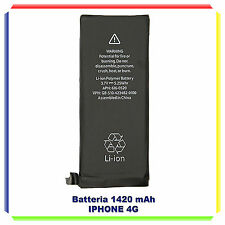 BATTERIA ORIGINALE IPHONE 4 1420mAH ZERO CICLI