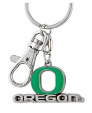 Oregon Ducks Logo Key Ring Metal Heavyweight Keychain NCAA