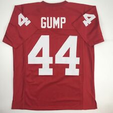 beac8a938 New FORREST GUMP Alabama Red College Custom Stitched Football Jersey Men s  XL