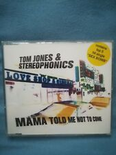 Maxi-CD  Tom Jones & Stereophonics - Mama told me not to come  -  Anschauen