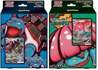 Pokemon Card Sword & Shield Starter Set Deck VMAX Blastoise & Venusaur set Japan