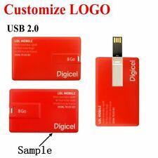 Lot Bulk 50PCS 128MB-16GB Card USB Flash Pen Drive Memory Stick Free Custom LOGO