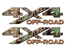 4x4 OFF ROAD Camouflage Real AP Camo Tree TRUCK Decal Sticker! CHEVY DODGE FORD