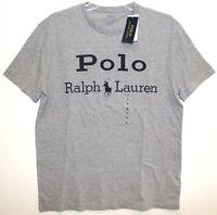 Polo Ralph Lauren Mens Size M Heather Gray Polo Brand Crewneck Shirt NWT Size M