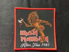 "Iron Maiden ""Killer Tour 1981"" Patch judas priest-motorhead-angel witch-saxon"