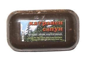 Milva Soap Pine Tar Prevention Allergies & Eczema & Psoriasis 60g