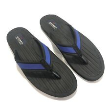 Sperry Top-Sider Flip-Flops Blue Fabric Men Shoes Size 13 Medium