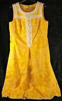 Lilly Pulitzer Vintage 1960s Sheath Dress - Unhemmed - EUC