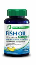 Nature Spec Chewable Lemon Fish Oil 1000mg HIgh Absorption Premium TG Omega 3