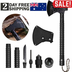 Camping Axe Portable Survival Axe Multi Tool Hatchet Folding Camping Axe Sheath