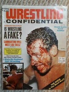 Vintage Wrestling Confidential Magazine July 1964 2nd Issue! Sheik Sammartino
