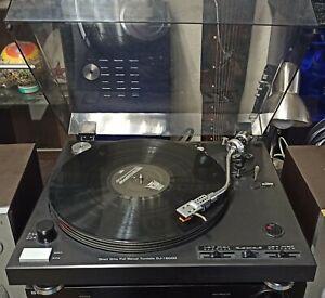 Direct Drive Full Manual Turntable DJ-I 600D Plattenspieler + 1 Ersatzsystem