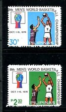 Philippines 1361-1362,MNH.Michel 1239-1240. World Basketball Championship,1978.