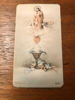 Vintage Catholic Holy Card - Christ the Good Shepherd - Unique and Rare Image