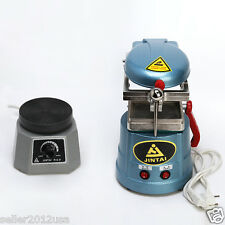 "Dental Lab Vacuum Former Forming & Molding Machine Vibrator 4"" Round Oscillator"