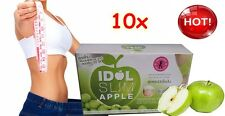 10x idol Slim Apple Drink Burn Body Fat & White Detox Loss Weight Diet
