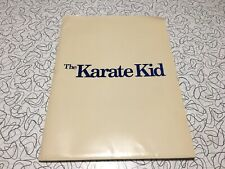 Vintage 1984 The Karate Kid Complete Press Kit With Photos