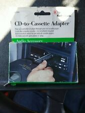 RadioShack Cassette Adapter Connects Mp3 Or Cd Player 1/8� 3.5mm Plug———2