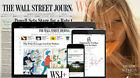 Wall Street Journal  Print & Online All Access 1-YEAR WSJ Subscription NEWS