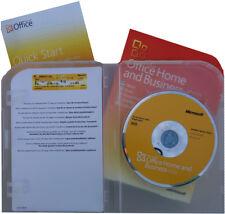 Microsoft OFFICE 2010 Home & Business Vollversion+Zweitlizenz + DVD 32/64bit ENG