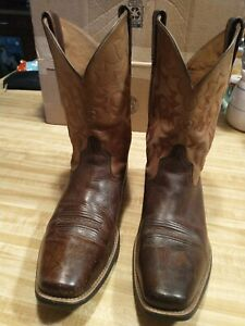 Men's Ariat Heritage Western Professional Boots Reinsman Earth Gate Post Brown.