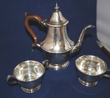 "Teaset 1/1/5pt Lenox Sterling Silver 8 1/4"" Pot Wood Handle2 1/2"" t x 3 7/ 16""W"