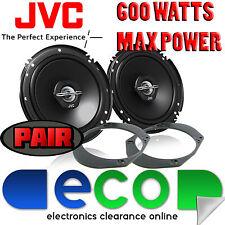 Ford Fiesta 2002-2007 MK6 JVC 16cm 6.5 600 Watts 2 Way Rear Door Car Speakers