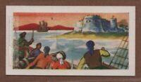 Welsh Pirate Bartholomew 'Black Bart' Roberts Vintage Ad Trade Card