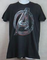 Avengers Mens T-Shirt New Black Age of Ultron Marvel Officially Licensed