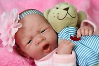 "Baby Girl Doll Real Reborn Berenguer 15"" Vinyl Lifelike Gift Toy Alive Newborn"