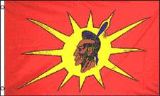 3x5 Oka Indian Oka Crisis Mohawk Flag 3'x5' Banner Brass Grommets