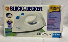 New in Box Black & Decker Glide 'N Go Iron S450A