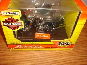 1993 MATCHBOX HARLEY DAVIDSON SPECIAL EDITION ELECTRAGLIDE WITH SIDE CAR
