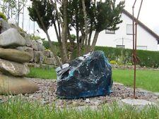 Glasbrocken Glasstein Naturprodukt ca 20-30cm Gewicht ca 15-25kg türkis 600-00