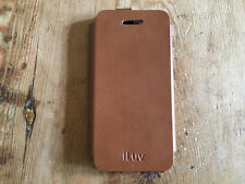 Used - Mobile Cover ILUV Cover Mobile - Leather Leather - Camel colour - Used
