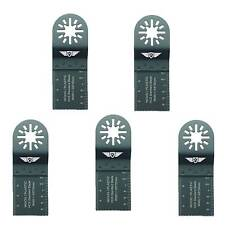 5 X Fine Tooth Blades for Fein Multi Master Bosch Ryobi AEG multitool multi outil