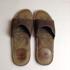 @ Margaritaville Womens Slides Size 8 NEGRIL LEATHER Sandals Slip On