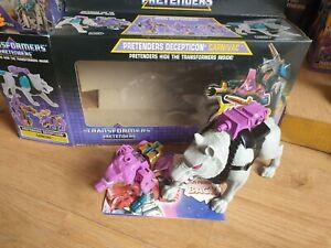G1 Transformers carnivac in original box