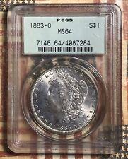 1883-O Morgan Silver Dollar Collector Coin PCGS MS64. FREE SHIPPING
